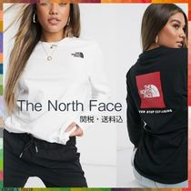 *THE NORTH FACE* Red Box Tシャツ 長袖 2色