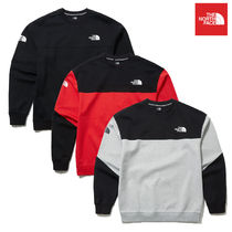 THE NORTH FACE ザノースフェイス CROSS COLORS SWEATSHIRTS
