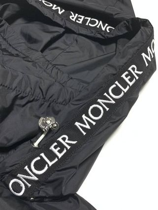 MONCLER アウターその他 関送込 MONCLER POMME 刺しゅう ロゴ ナイロンジャケット(3)