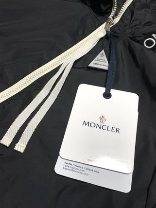 MONCLER アウターその他 関送込 MONCLER POMME 刺しゅう ロゴ ナイロンジャケット(4)