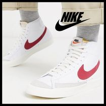 NIKE*Blazer Mid '77 trainers*white/red*送料込