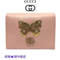 GUCCI 499361-CAOGT-5969 カードケース(コイン&紙幣入れ付き)
