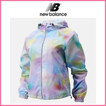 新作!! ☆New Balance☆ Essentials Soft Spectrum AOP Jacket