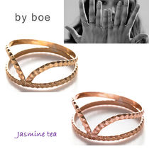 by boe(バイボー) 指輪・リング ★セール/即発♪★2色By boe Double Scalloped Ring★