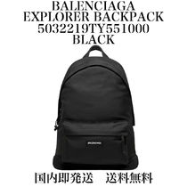 【国内即発】【送料無料】★Explorer Backpack★BLACKNYLON★