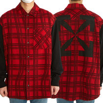 OFF WHITE Contrast sleeve checkシャツ_OMGA101S 20H48025 2010
