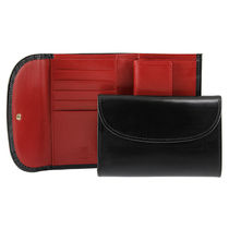 WHITEHOUSE COX 三つ折り財布 3FOLD WALLET S7660 BLACK/RED