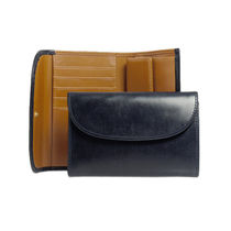 WHITEHOUSE COX 三つ折り財布 3FOLD WALLET S7660 NAVY/NEWTON