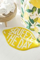 【Urban Outfitters】Squeeze The Day レモン型 バスマット