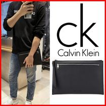 ★CALVIN KLEIN★マイクロCKクラッチバッグ☆正規品・男女OK!☆