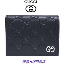 GUCCI 522869-CWC1N-4009 カードケース(コイン&紙幣入れ付き)