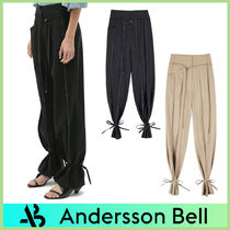 【ANDERSSON BELL】KATINA WIDE ANKLE-STRING WOOL パンツ/2色