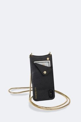 Bandolier スマホケース・テックアクセサリー NEW!!Belinda Pebble Leather Crossbody Bandolier(4)