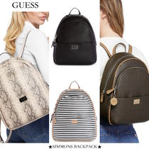 【GUESS/ゲス】限定セール SIMMONS BACKPACK シモンズ バック