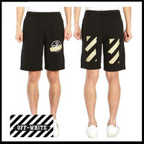 (オフホワイト) OFF-WHITE SWEATSHORTS OMCI006R20E30002