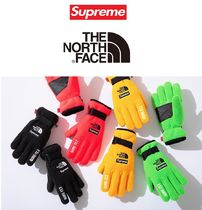 20SS Week3 Supreme The North Face Fleece Gloves 4色
