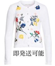 alice+olivia Ruthy Floral Embroidered Cardigan カーディガン