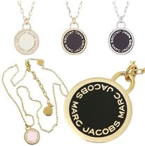 SALE! MARC JACOBS ロゴ DISC ENAMEL ペンダント ネックレス♪