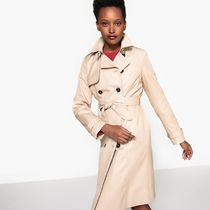 La Redoute Cotton Mid-Length Trench Coat