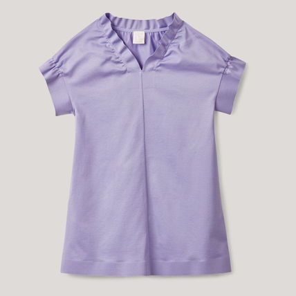 """COS KIDS"""" RUCHED-TRIMMED DRESS LILAC (COS/キッズワンピース ..."""
