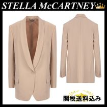STELLA MCCARTNEY ALLISON WOOL SINGLE-BREASTED JACKET