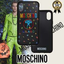 Moschino◆Max Magnets iPhone X ケース	Dv99