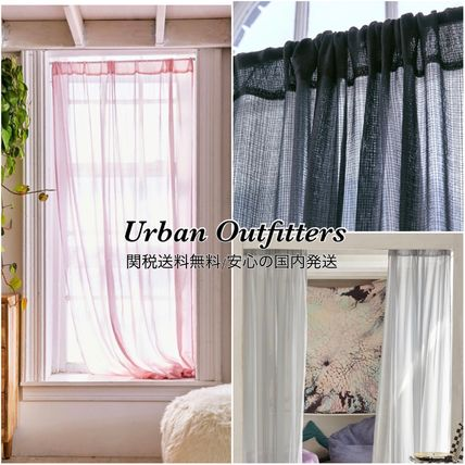 Urban Outfitters カーテン Urban Outfitters ガーゼカーテン 213×132cm 関税送料無料