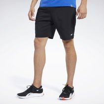 [ Reebok ] MEN'S TRAINING WOR COMM Woven Shorts (Black)