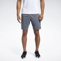[ Reebok ] MEN'S TRAINING WOR COMM Woven Shorts (GREY)
