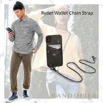 【iPhone 11pro】Ryder Wallet Chain Strap - Black/Pewter