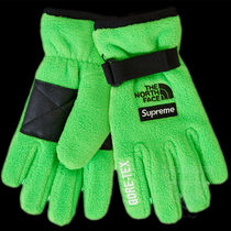 SS20 SUPREME THE NORTH FACE RTG FLEECE GLOVE BRIGHT GREEN 緑