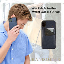 Bandolier(バンドリヤー) スマホケース・テックアクセサリー 【iPhone 11pro】Alex Pebble Leather Wallet Case (no D-rings)