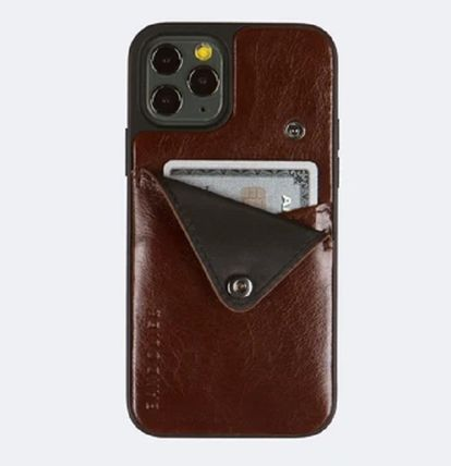 Bandolier スマホケース・テックアクセサリー iPhone11pro-Alex Distressed Leather Wallet Case (no D-rings)(3)