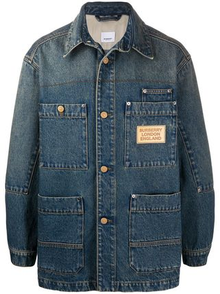 Burberry ジャケットその他 【BURBERRY】pocket detail denim jacket(2)