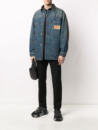 Burberry ジャケットその他 【BURBERRY】pocket detail denim jacket(3)