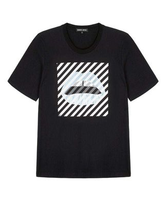 Markus Lupfer Tシャツ・カットソー Markus Lupfer★Alex Paintedリッププリント Tシャツ TEE327(2)