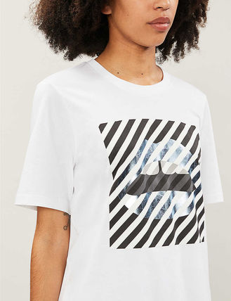 Markus Lupfer Tシャツ・カットソー Markus Lupfer★Alex Paintedリッププリント Tシャツ TEE327(9)