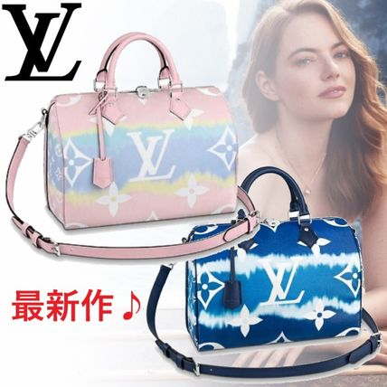 Louis Vuitton ボストンバッグ 【直営店】ルイヴィトン☆スピーディーバンドリエール 2color