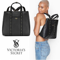 VICTORIA'S SECRET Studded Convertible Backpack 2WAY ブラック