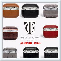 The Case Factory★AIRPOD PRO ケース イタリアンレザー★iPhone