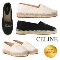 CELINE TAILLAT FLAT ESPADRILLE IN CANVAS