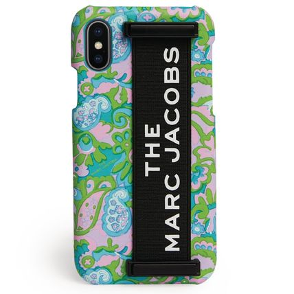 MARC JACOBS スマホケース・テックアクセサリー 【国内発送】MARC JACOBS☆TheElasticHandheld iPhone XS Case☆(2)