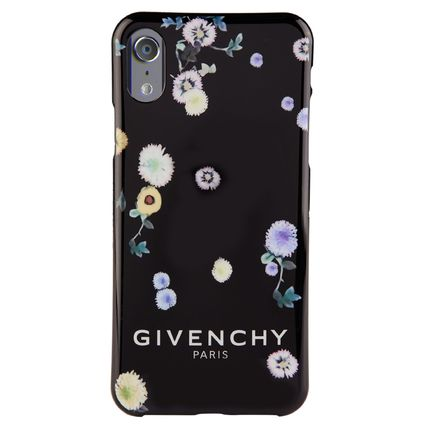 GIVENCHY スマホケース・テックアクセサリー 【国内発送】GIVENCHY☆Floral iPhone X Case☆花柄/ブラック(2)