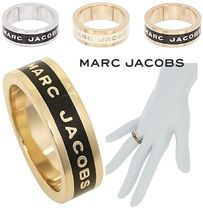 SALE! MARC JACOBS ロゴ リング ENAMEL LOGO DISC BAND RING♪