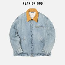 ☆国内発送 正規品☆FEAR OF GOD DENIM WORK JACKET INDIGO