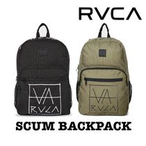 [RVCA] SCUM BACKPACK ロンハーマン ロゴ 19L ルーカ