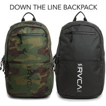 [RVCA] DOWN THE LINE バックパック ロンハーマン ルーカ 27L