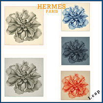 【HERMES】Une Rose pour Alma shawl 140 エルメス ショール☆