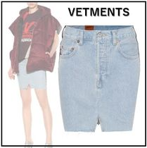 VETEMENTS x Levis コラボ denim mini skirt * デニムミニスカ *