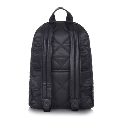 TIBA+MARL マザーズバッグ Tiba+Marl★Black Elwood Quilted Backpack Changing Bag♪(6)